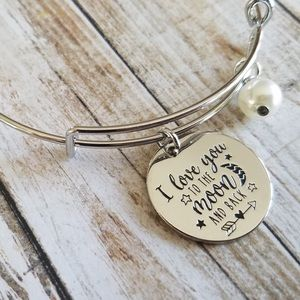 love you to the Moon & Back bracelet
